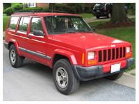 serwis samochodów Jeep Cherokee